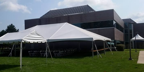 frame tents for corporate event in Maumee, Ohio